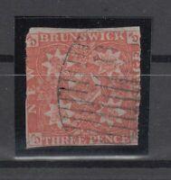 C2867/ BRITISH NEW BRUNSWICK – SG # 2 USED – CV 425 $