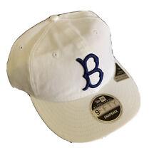 New Era 9Fifty Snapback Brooklyn Dodgers Adjustable Baseball Cap White