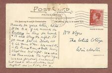 Mrs Noyes   The White Cottage    Winchester  1937,    Roman Baths       AH46