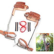 New Listing200kg Tree Climbing Spike Set Spur Gear Climbing Steps 304 Stainless Steel Usa