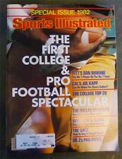 Sports Illustrated First College & Pro Football Spectacular Special Issue 1982
