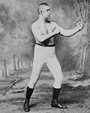1885 Boxing Heavyweight JOHN L SULLIVAN Glossy 8x10 Photo Boxing Print Portrait