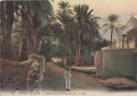 Algerien - CPA - altes Biskra - Marabout Sidi-lassen