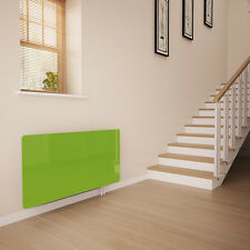 Lime Green Glass Radiator Cover For The Hall - Extra Small