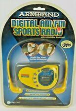 Lifelong Armband Digital AM FM Radio W Adjustable Armband Water Resistant 10