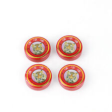 4pcs Red Tiger Balm Pain Relief Ointment Massage  Muscle Rub Aches Refreshing