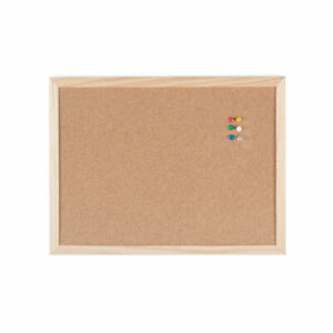 A4 CORK BOARD Hanging Office Thick Pin Boards Model Making Craft Hobby School