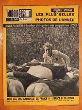 Miroir-Sprint N° 864 du 24/12/1962-Les plus belles photos de l'année- Rugby