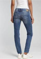 GANG Nikita Skinny Fit Damen Jeans, Blau, W26,27,29,30 L32