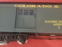 Bachmann Big Haulers Full baggage Passenger Car Colorado & Southern 97491 NEW G