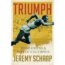 Triumph: Jesse Owens And Hitler's Olympics, Schaap, Jeremy, Excellent Book