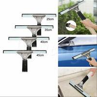 25/35/40/45cm Stainless Steel Squeegee Shower Mirror Glass Window Wiper Clean