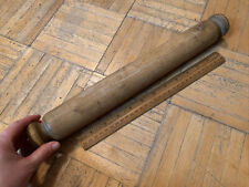 New listing 18th/ Early 19th Century Maple Wood Rolling Pin W Nice Carved Out Knob-like Ends