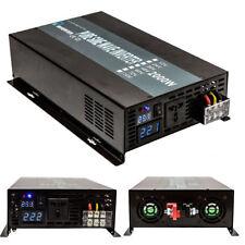 Pure Sine Wave Inverter 2000W 12V/24/48V DC to 120/240V AC Off Grid Power