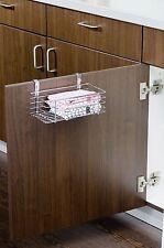 Tür Regal Klein, Einhängekorb für Küche und Bad, Gewürzregal, Putzmittelregal,