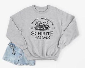 Schrute Farms Jumper Sweatshirt Funny The US Office Dwight Beets Michael Scott