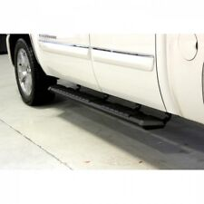 01-10 GM 2500/3500HD CREW CAB IRON CROSS PATRIOT STEP RUNNING BOARDS BLACK.