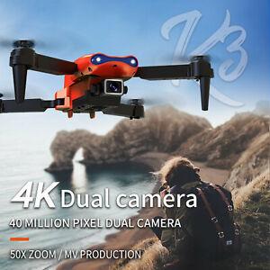 Mini-Drone 4K HD Dual Camera Wifi FPV Smart Selfie RC UAV Foldable Quadcopter