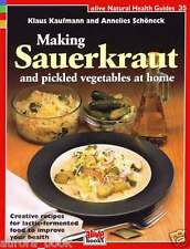 Making Sauerkraut and Pickled Vegetables at Home Alive Natural Health WT60699
