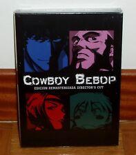 COWBOY BEBOP EDICION REMASTERIZADA DIRECTOR´S CUT 5 DISCOS DVD NUEVO PRECINTADO