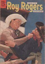 ROY ROGERS - le Roi des Cow-boys - n° 36 - 1956