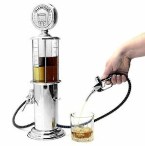 Vintage Filler Up Liquor Pump Godinger Silver Beverage Home $50 bar tool home