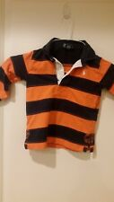 Polo Ralph Lauren striped polo rugby t-shirt Size 24M NR