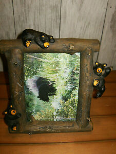 """Bearfoots Big Sky Carvers 5x7"""" Picture Frame by Jeff Fleming"""