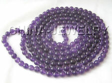 Strand/String Amethyst Natural Fine Necklaces & Pendants