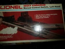 Lionel new 6-5021 Left-hand Manual control switch