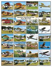 BOWMAN FIELD FLYING CLUB FLY-IN 2017 AIRCRAFT POSTER 1st OF 2 Alphabetically A-C