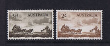 Australian Pre-Decimal Stamps 1955 3d & 2/- Cobb & Co Set **SPECIAL PRICE** MNH
