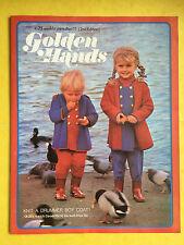 Golden Hands - Part 11, Crochet, Knitting, Dressmaking, Embroidery, Magazine