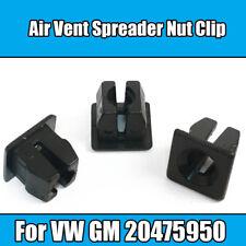 5x Clips pour VW Air Vent épandeur Écrou clip en plastique noir GM 20475950