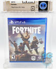 PS4 - FORTNITE - FACTORY SEALED - WATA 9.4 A - EPIC GAMES 2017