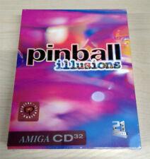Pinball Illusions Commodore Amiga CD32 Boxed New Sealed