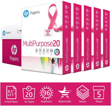 Acid Free Paper For HP Printer 2500 Multipurpose Sheets 5 Ream Case Made In USA