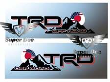 TRD Off Road US and Japan Flag Style 4x4 PRO Sport Off Road Side Vinyl Stickers