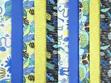 10 JELLY ROLL STRIPS 100% COTTON PATCHWORK CRAFT FABRIC ELECTRIC JUNGLE