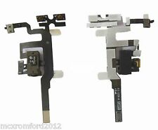 NEW Headphone Jack + Mute Switch + Volume Buttons Audio Flex Cable For iPhone 4S