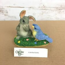 """Fitz & Floyd Charming Tails """"A Little Bird Told Me"""" Figurine"""