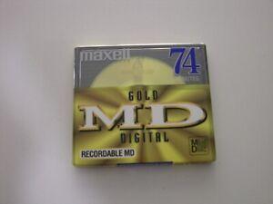 MAXELL MD-74 GOLD   ---   MINIDISC NEW