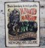 Haunted Mansion HANDMADE Walt Disney Ride vintage wood sign