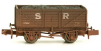 Dapol 2F-071-008 N Gauge 7 Plank Wagon SR 37459 Weathered