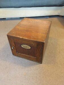 Wine Caddy  Cabinet Industrial  Elliotts of London Addressing Machine Box