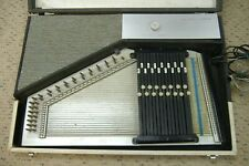 Vintage 1960's Sears Silvertone Electric Autoharp w/amp-in-case 100% functional
