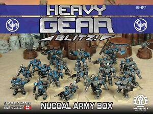 Heavy Gear Blitz NuCoal Army Box Set (18 Models) DP9-9347 1/144 Scale