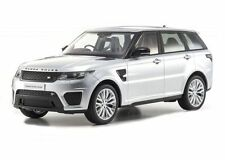 KYOSHO 1:18 RANGE ROVER SPORT SVR CLOSED BODY DIECAST SILVER C09542S