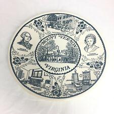 Vintage Fine American Ironstone Historical Mount Vernon Virginia Plate