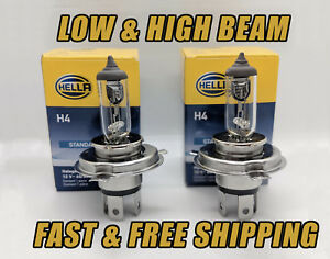 Front Headlight Bulb For Lada 1300 1983 Low & High Beam Qty 2 Stock Fit